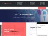 HACCP certification consultancy in France-TopCertifier