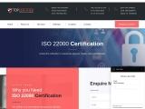 ISO 22000 certification consultancy in Israel-TopCertifier