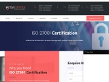 ISO 27001 certification consultancy in Israel-TopCertifier