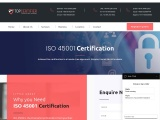 ISO 45001 Certification Consulting Services in Thailand | TopCertifier