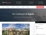 Best ISO Certification Consultants in Algeria | TopCertifier
