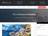ISO Certification in Austria   TopCertifier