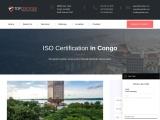 ISO, CE Mark, VAPT & HACCP Certification Company in Congo | TopCertifier