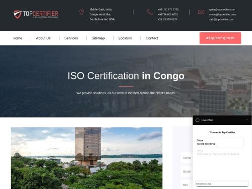 Best ISO Certification Consultants in Congo   TopCertifier