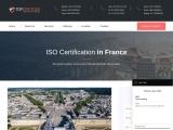 ISO Certification in France   TopCertifier