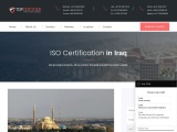 ISO Certification in Iraq |TOPCertifier