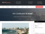 ISO Certification Consultancy in Israel – TopCertifier