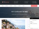 ISO Certification in Italy | TopCertifier