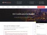 ISO Certification in Kuwait |TOPCertifier