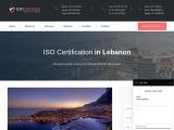 Best ISO certification consultants in Lebanon | TopCertifier