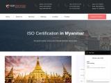 ISO Certification in Myanmar |TOPCertifier