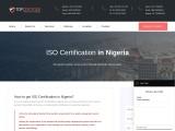 Best ISO Certification Consultants in Nigeria | TopCertifier