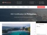 ISO Certification Consultancy in Philippines-Topcertifier