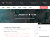 ISO Certification in Qatar | TOPCertifier