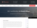 ISO Certification in South Africa |TOPCertifier