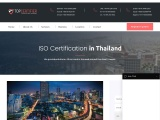 ISO Certification Consultancy in Thailand-Topcertifier