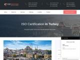 Best ISO certification consultants in Turkey | TopCertifier