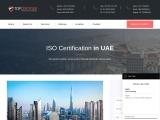 Best ISO certification consultants in UAE | TopCertifier