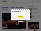 How To Get Super Bowl Squares Template