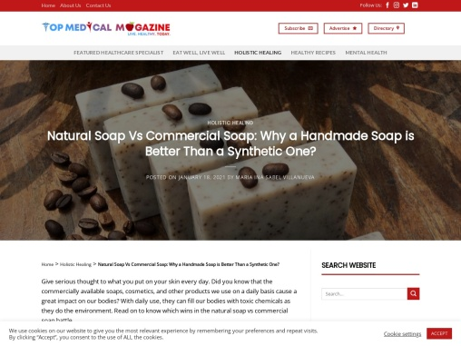 Why a Handmade Soap is Better Than a Synthetic One?