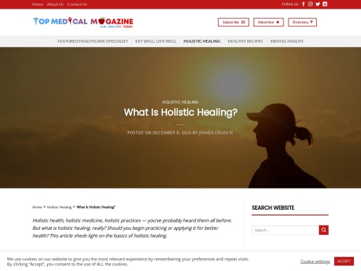 What Is Holistic Healing? Top Medical Magazines