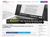 11 Biggest SEO Writing Mistakes and How to Avoid Them