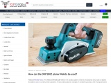 How to use the Makita DKP180Z Planer ? – Toptopdeal.co.uk