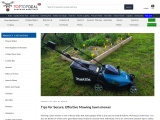 Tips for Secure, Effective Mowing Lawn Mower – Toptopdeal.co.uk