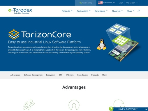 Torizon – Easy-to-use Industrial Linux Platform