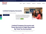 Limited Company Accounts and Taxes Services in High Wycombe By Total Tax Accountant