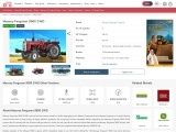 Massey 9500 Tractor Price, Specifications and Reviews