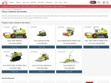 Claas Harvester – Most-Promising Farming Machine in India