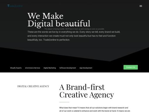 Best Martech Strategic Digital Marketing Company | Trade2Online