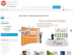 Tradeshowdisplaypros.com screenshot