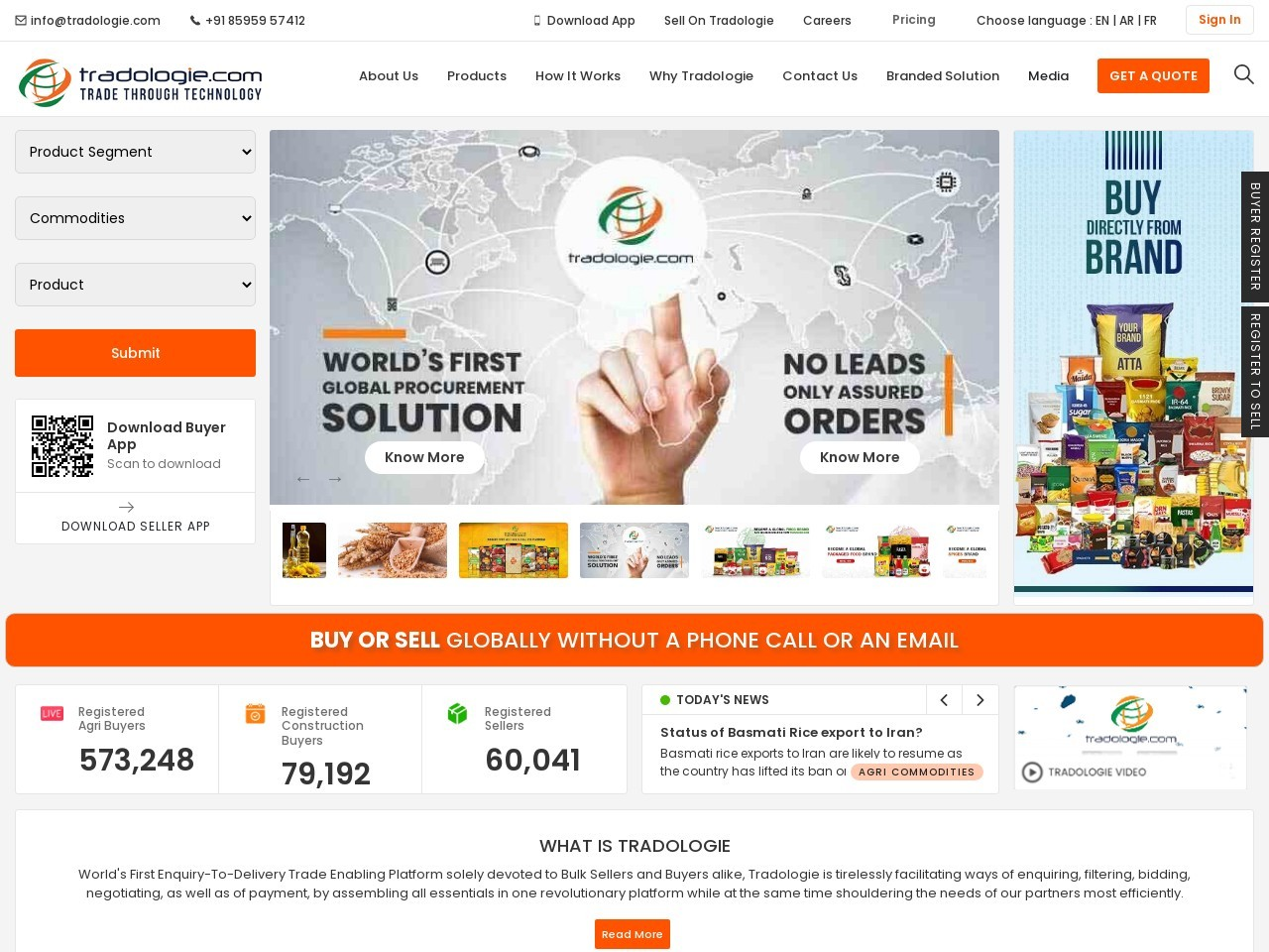 Export Sona Masooi Rice Globally through Tradologie.com