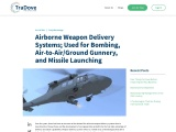 Airborne weapon delivery methods include bombing, air-to-air/ground gunnery, and missile launch.