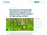Bio-butanol has the potential to replace gasoline and ethanol-based fuels because of its high energy