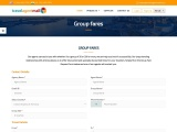 Group Flight Booking: Up to 30% off