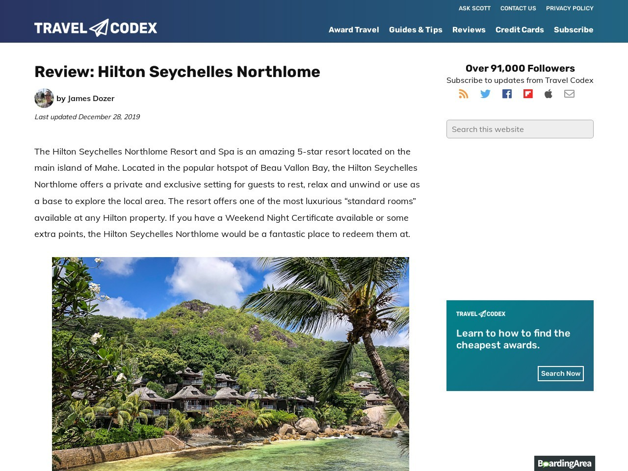 Hilton Seychelles Northlome