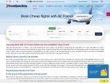 Book Cheap flights with Air France | Traveljunction