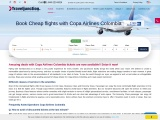 Book Cheap flights with Copa Airlines | Traveljunctionus