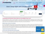 Book Cheap flights with Emirates Airlines | Traveljunctionus