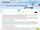 Book Cheap flights with United Airlines | Traveljunction