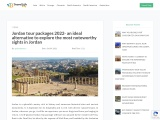 Jordan tour packages 2022 – the most noteworthy sights in Jordan