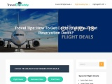 Covid 19 Airline Ticket Reservation Deals