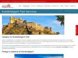 Taxi Services from Udaipur to Kumbhalgarh, Book cabs in Kumbhalgarh