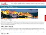 Udaipur Taxi Hire, Book taxi in Udaipur