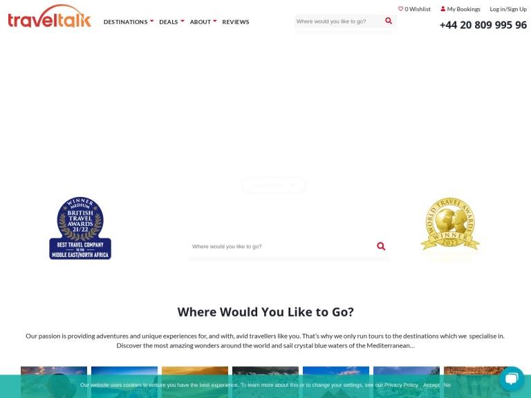 Travel Talk Tours screenshot