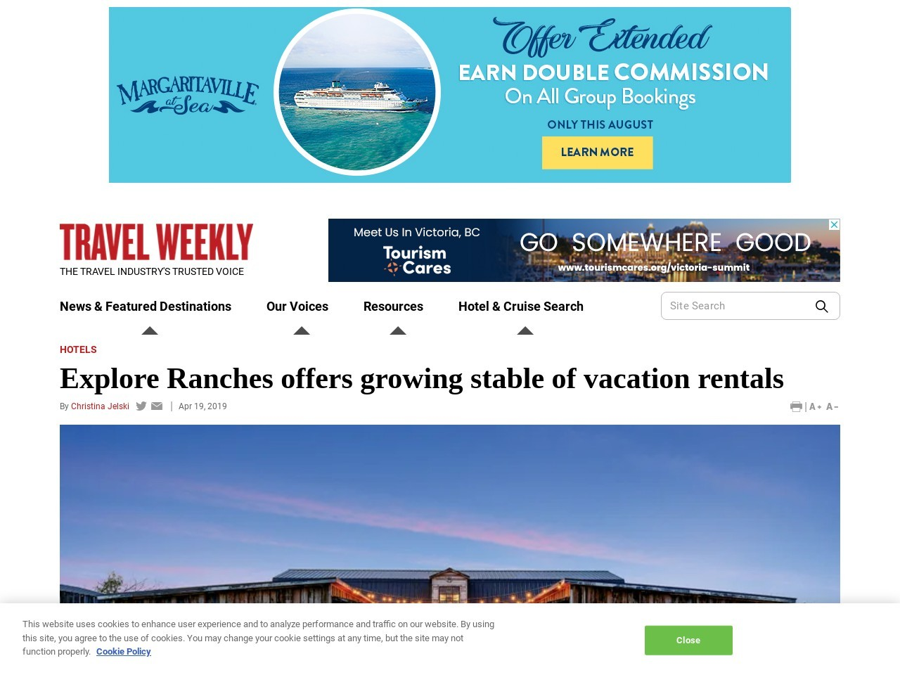 Explore Ranches offers growing stable of vacation rentals