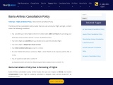 Whats Is Iberia Cancellation Policy?